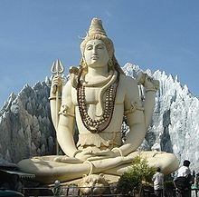 Lord Shiva in meditation